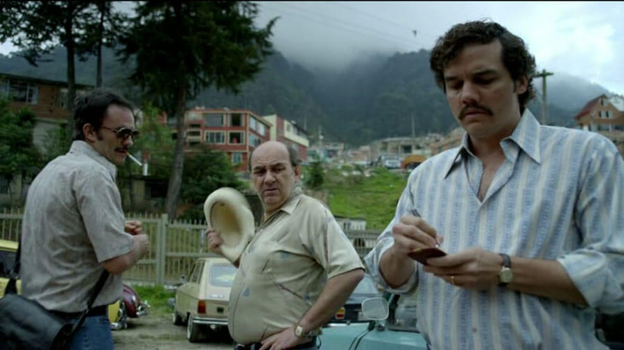 Escobar was constantly taking notes